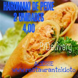 HARUMAKI DE PEIXE