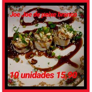 JOE JOE DE PEIXE BRANCO FLAMBADO