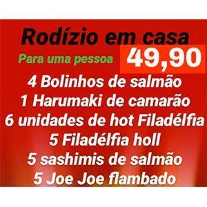 RODÍZIO 1 - EM CASA