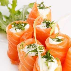 SUSHI/SHAKE COM CREAM CHEESE