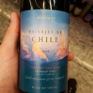 PAISAJES DE CHILE - RES. CAB. SAUVIGNON 2016