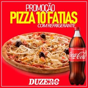 COMBO ( PIZZA  FAMILIA 10 FATIAS) + REFRIGERANTE  1,5 L