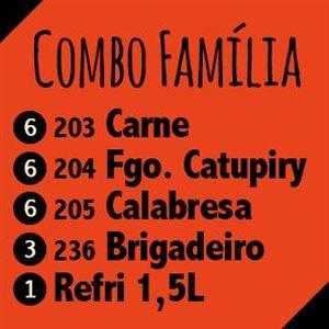 COMBO FAMÍLIA