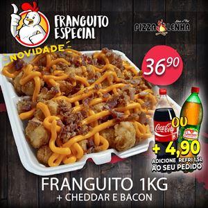 FRANGUITO 1KG + CHEDDAR E BACON