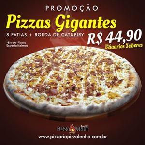 PIZZA GG - 8 FATIAS - COM BORDA DE CATUPIRY
