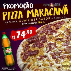PIZZA MC (16 FATIAS) COM BORDA + REFRI1,5L