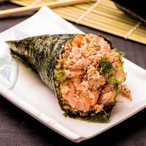 3 temakis salmão grelhado