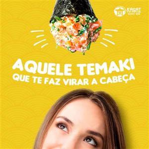 Temakis de salmão fresco (escolha)