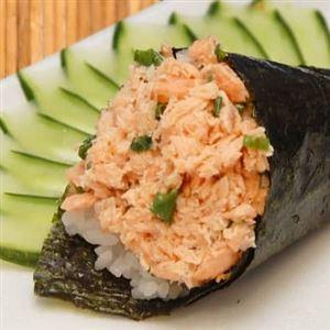 Temakis de salmão grelhado (escolha)