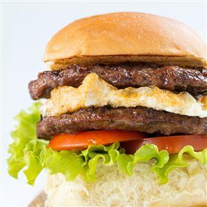 Hambúrguer Duplo