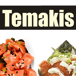 02 Temakis Salmão + Mini Refrigerante