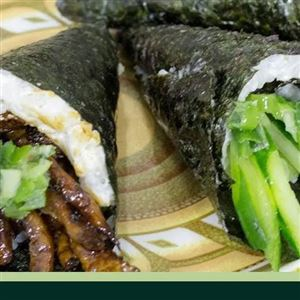 2 Temakis (Shimeji + Vegetariano)