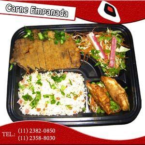 Nº 12 Teishoku Carne Empanada