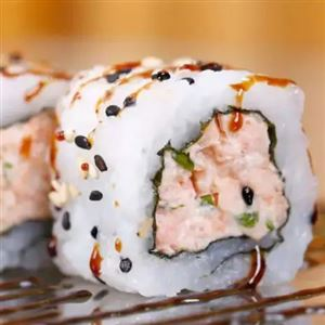 Nº2 - Uramaki salmão grelhado