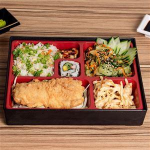 Teishokus Junior(Pratos com muita variedade da culinária japonesa)