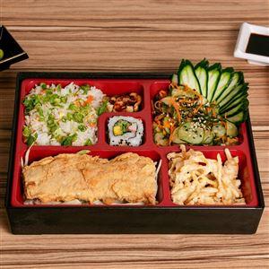 Teishuko Junior(pratos com muita variedade da culinária japonesa)