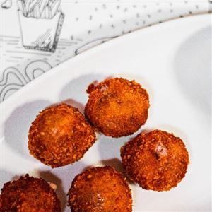CRUNCH BUFFALO MEATBALLS