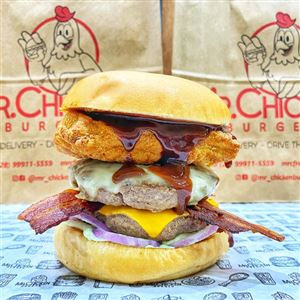 BURGER DA SEMANA BIG CHICKEN LOVE