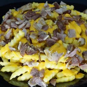 Batata com Cheddar e Bacon