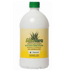 Aloe Vera (Babosa) Orgânica Natural 500ML - Naturama
