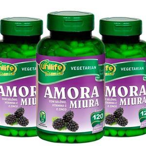 AMORA MIURA com selênio, vitamina C e zinco