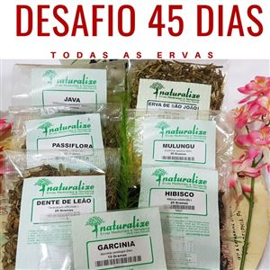 CHÁ MIX DESAFIO 45 DIAS (KIT)