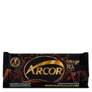 Chocolate Arcor 70% Cacau 120g