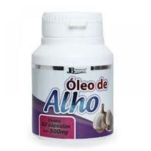 OLEO DE ALHO 60 CAPS 500 MG - JB