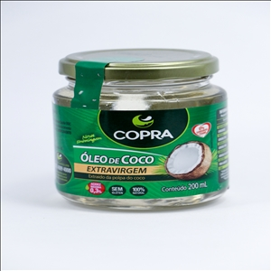 OLEO DE COCO EXTRA VIRGEM 200ML(COPRA) 7898905356567