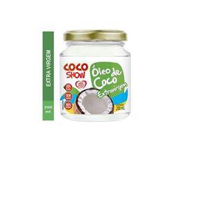 ÓLEO DE COCO EXTRA VIRGEM 200ML COCO SHOW COPRA