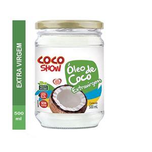 ÓLEO DE COCO EXTRA VIRGEM 500ML COCO SHOW COPRA