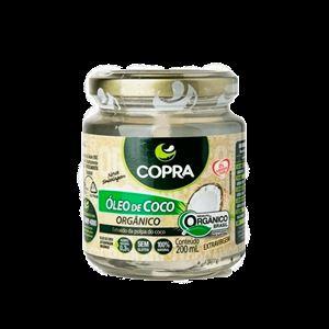 Óleo de Coco Orgânico 200ml Copra
