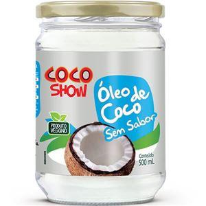 Óleo de Coco Show Sem Sabor 500ml Copra