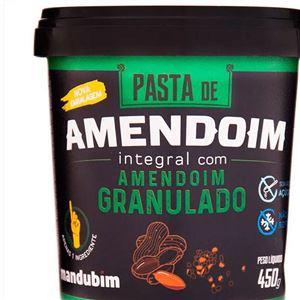 Pasta de Amendoim Granulada 450g