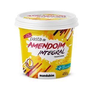 Pasta de Amendoim Integral 450g