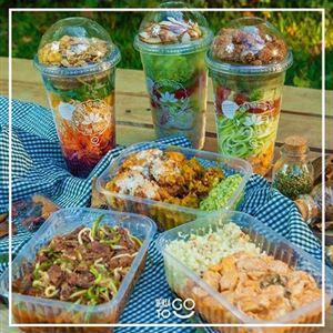 KIT Semanal HighProtein - Mix de Refeições LowCarb e Saladas (5 unidades)