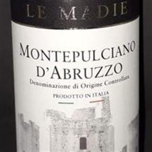 987 - LE MADIE MONTEPULCIANO D'ABRUZZO D.O.C. - VINHO TINTO
