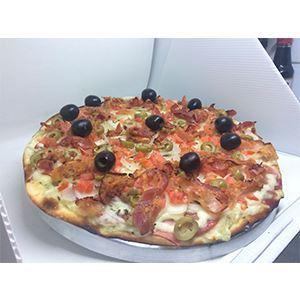 PIZZA DO CHEFE GIUSSEPE- (08 PEDAÇOS 35CM)