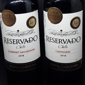 VINHO IMPORTADO 750ML SANTA CAROLINA