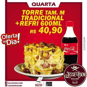 TORRE DE BATATA C/ REFRI 600ML