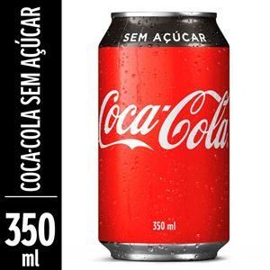 COCA ZERO LATA 350ML