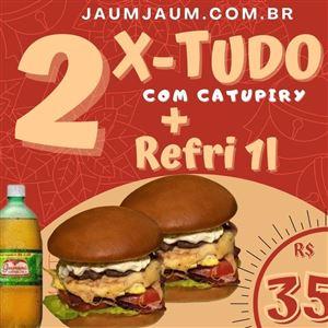 2 X TUDO COM CATUPIRY+ GUARANÁ ANTARCTICA 1L *Promoção*
