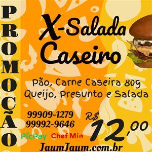 X SALADA CASEIRO