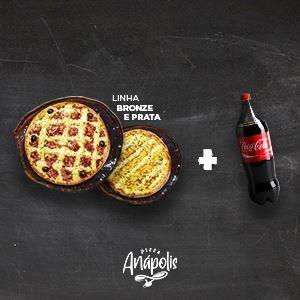 2 PIZZA GIGANTE + 1 REFRIGERANTE 2 LITROS